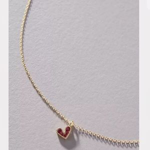 New Anthropologie Electric Picks Darling Necklace